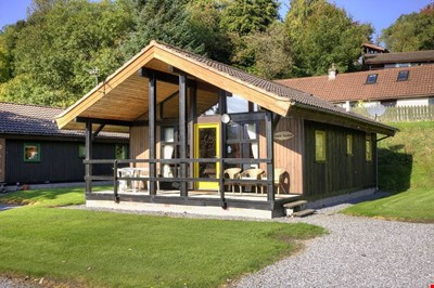 Sandy Island Lodge, Lochtay Highland Lodges, Killin FK21 8TY