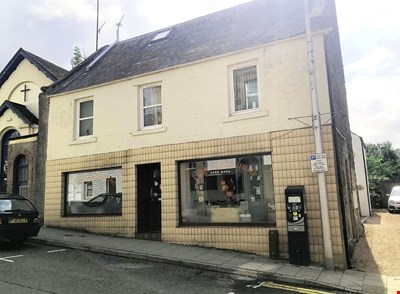 Former Cafe Premises, 46 King Street, Crieff PH7 3AX