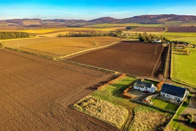 Land 20 metres north east , of Cairn Cottage, Kinnochtry Coupar Angus PH13 9PN