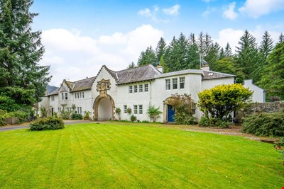 Arch House , The Square , Dunira, Comrie PH6 2JZ